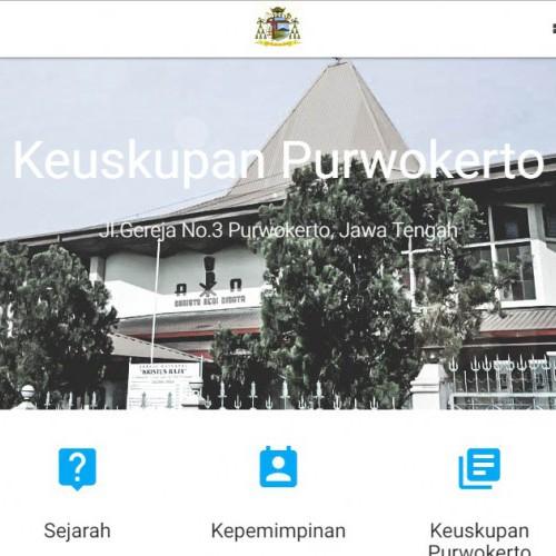 Tampilan Baru Website Keuksupan Purwokerto
